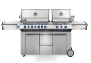 high end gas grill freestanding