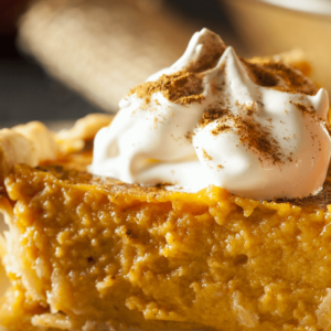 smoked pumpkin pie recipe