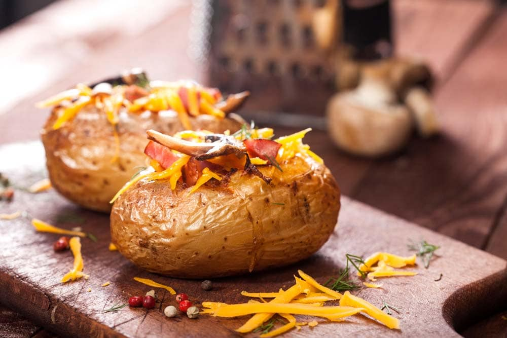 How to Bake a Potato on the BBQ